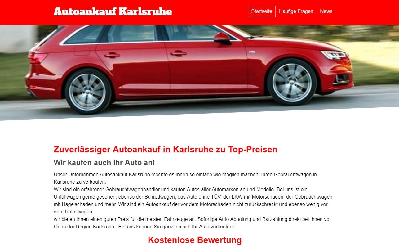 Autoankauf Karlsruhe
