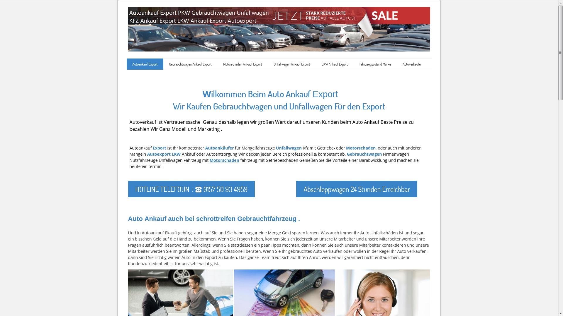 KFZ-Ankauf-Export Arnsberg
