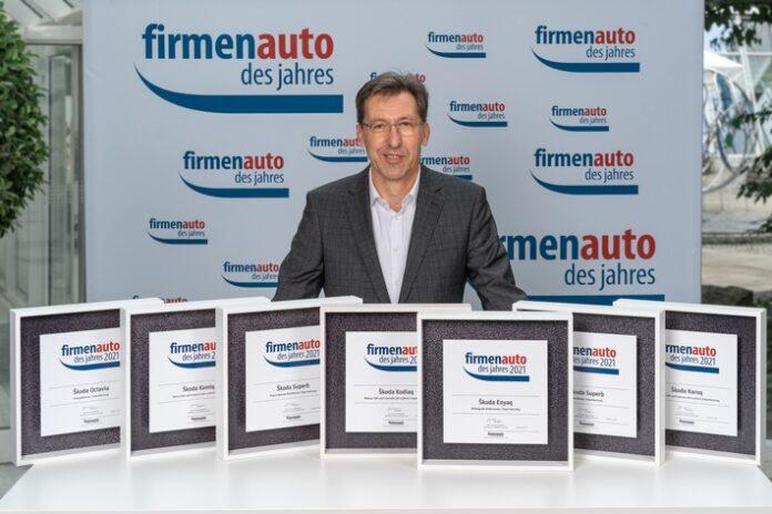 image 1 107 696x464 - ŠKODA gewinnt sieben Titel bei der Wahl 'Firmenauto des Jahres 2021'