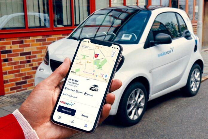 image 1 73 696x464 - FREE NOW integriert Carsharing-Fahrzeuge von SHARE NOW europaweit in seine App