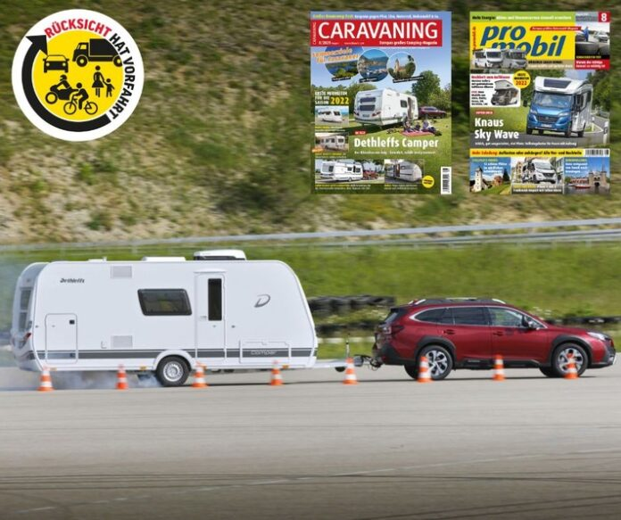 image 1 85 696x583 - Große Verkehrssicherheitskampagne der Motor Presse Stuttgart: Rücksicht hat Vorfahrt auch auf der Urlaubsreise