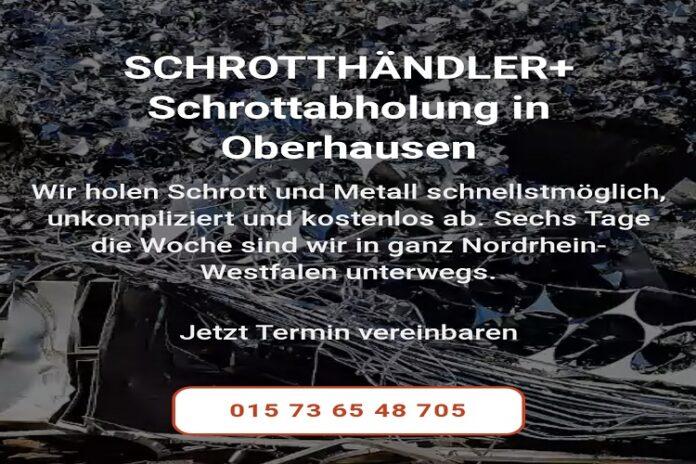 image 1 77 696x464 - Unser Team holt Ihren Schrott in Oberhausen und Umgebung kostenfrei für Sie ab durch unseren mobile Schrotthändler