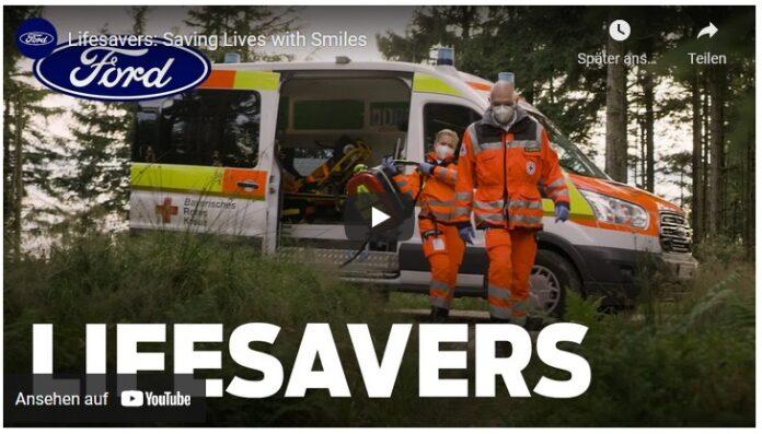image 1 126 696x397 - Menschlichkeit und Opferbereitschaft - Kurzfilm von Ford zeigt Rettungshelfer des Bayerischen Roten Kreuzes