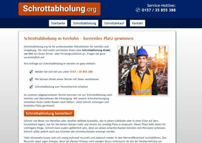 image 1 221 696x495 - Schrottabholung Iserlohn und dem Recycling in NRW