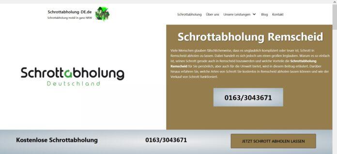 image 1 91 696x319 - Schrottabholung Remscheid - Schrott und Altmetall abholen lassen - Jetzt Termin vereinbaren!